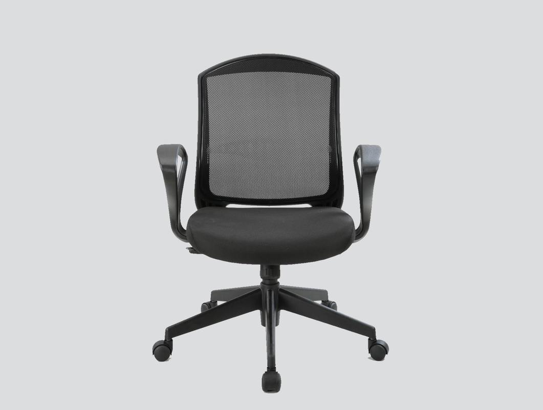 strong staff mesh chair with arms