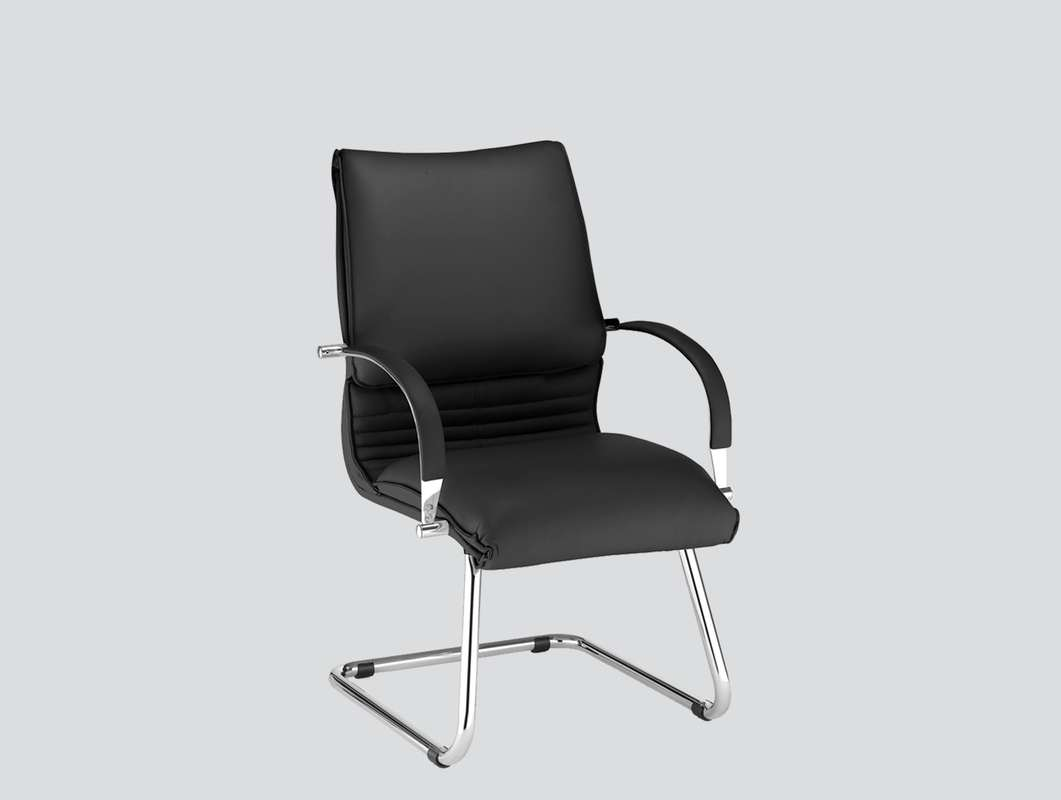 classic real leather chair with arms