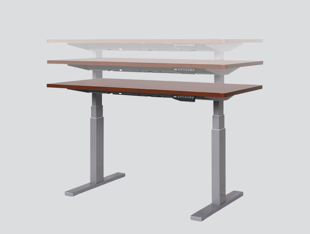 Height Adjustable Table Adjustable Standing Desk Ergonomic Desk