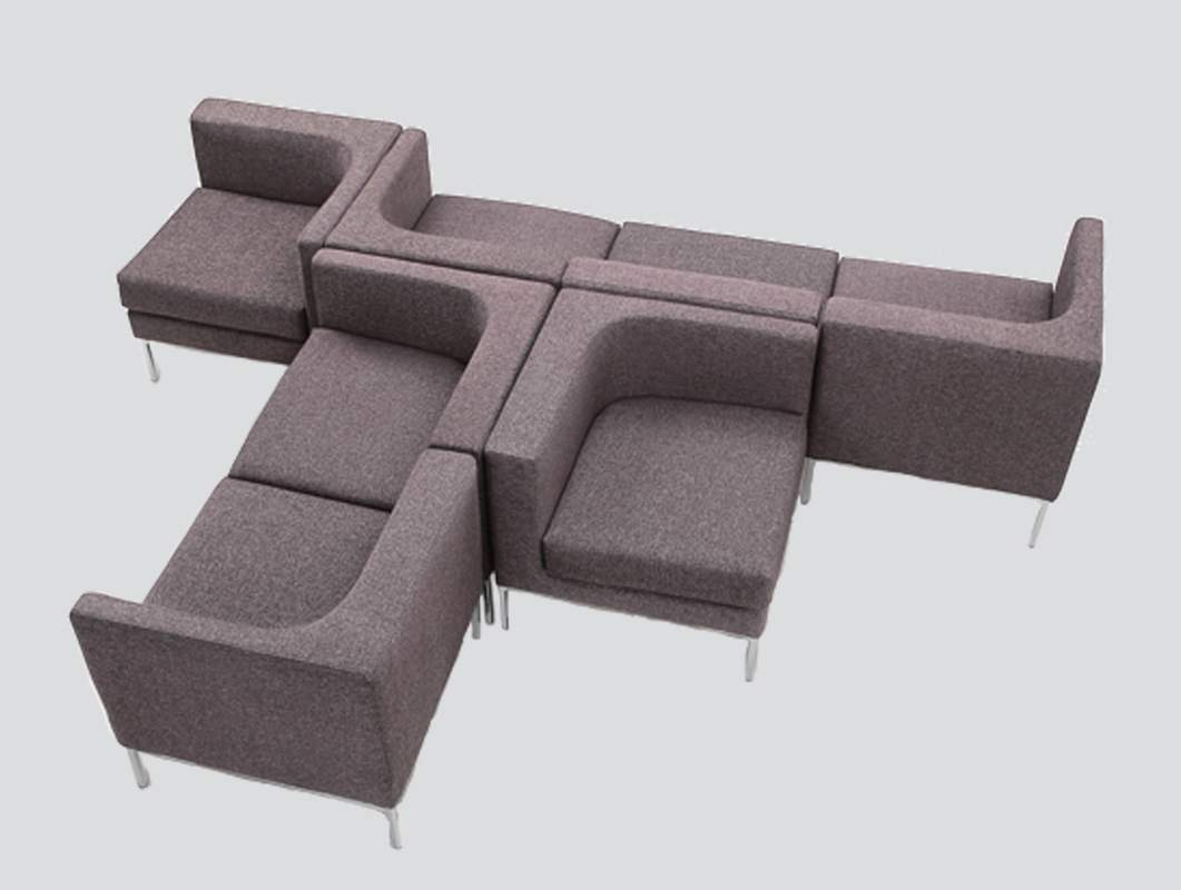 modular seating system for lounge areas