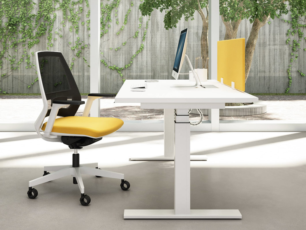 Electric height adjustable desk in uae