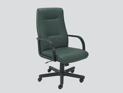 Green Manager chair in artificial leather