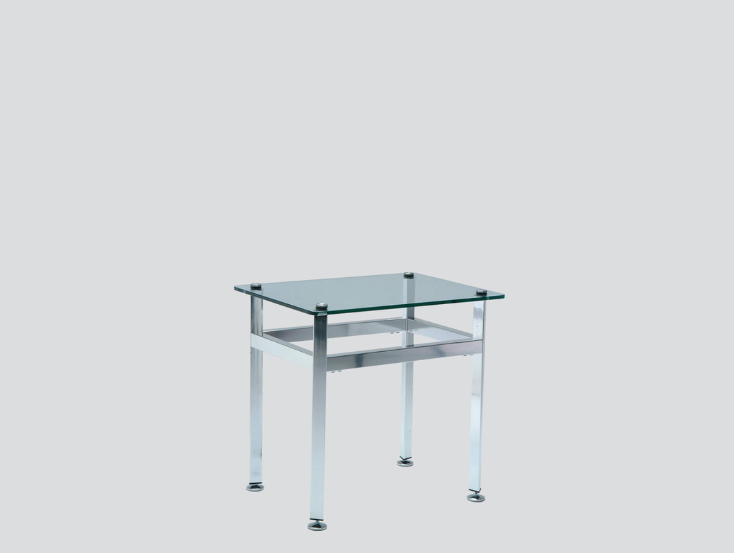 square stainless steel base cafeteria table