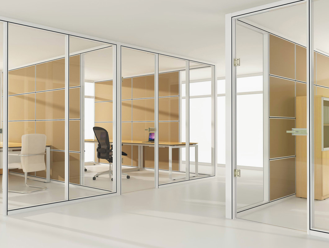 office space partition height ceiling