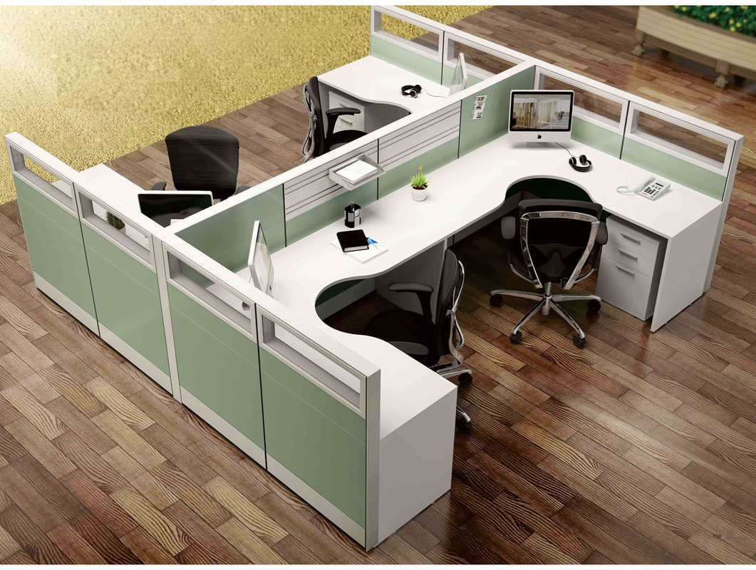 4 person workstation desk in Lebanon