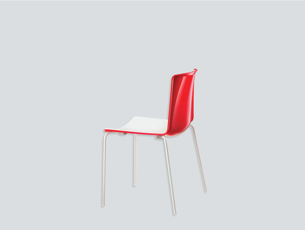 stackable plastic chair with arms aluminum legs
